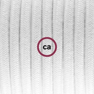Pendelsæt Porcelæn med Hvid Bomuld stofledning RC01