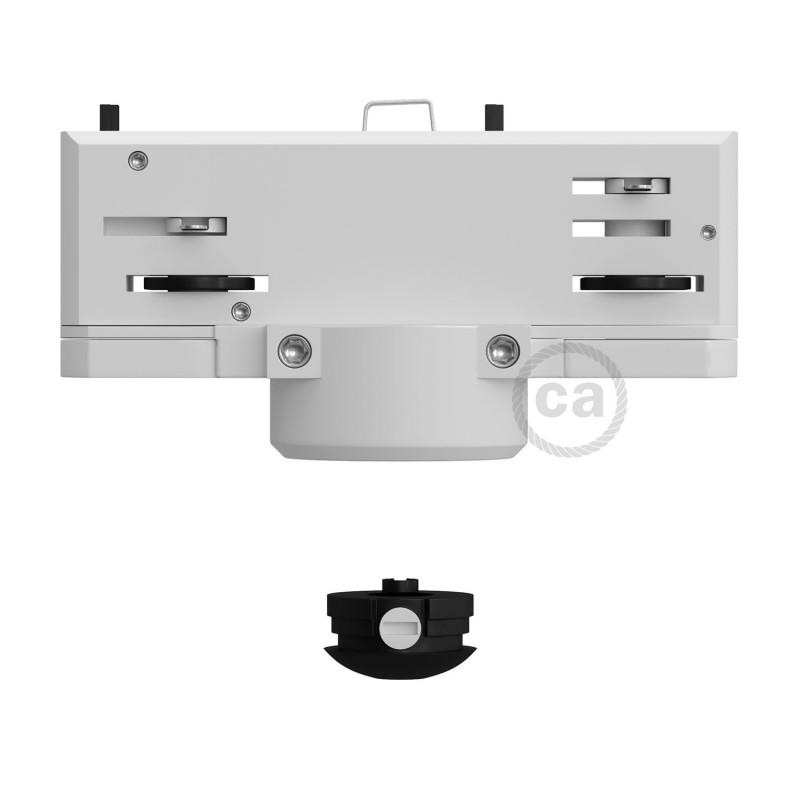 Eutrac Hvid pendel multiadapter til 3-faset skinne