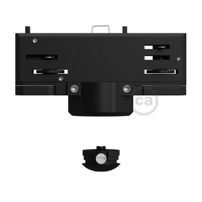 Eutrac Sort pendel multiadapter til 3-faset skinne