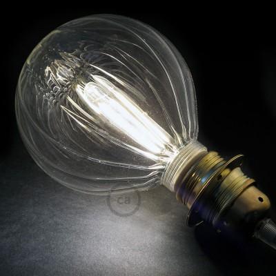 Modular LED Dekorativ lyskilde med Transparent Ballon 5W E27 Dæmpbar 2700K