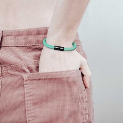 Armbånd af stofledning med magnetlås - RH69 Opal