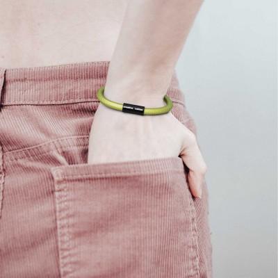 Armbånd af stofledning med magnetlås - RM32 Kiwi