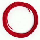 LAN Ethernet-kabel Cat 5e uden RJ45 stik - Viskosestof RM09 Rød