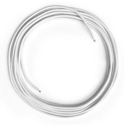 LAN Ethernet-kabel Cat 5e uden RJ45 stik - Bomuld RC01 Hvid