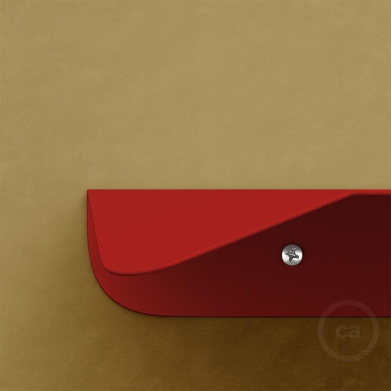 Magnetico®-Shelf Rød, metalhylde til Magnetico®-Plug