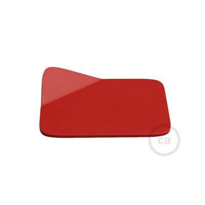 Magnetico®-Base Rød, metalbase til glatte overflader til Magnetico®-Plug