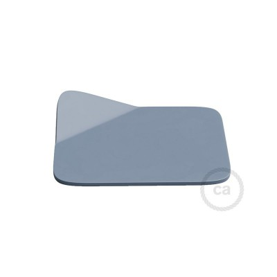 Magnetico®-Base Blå, metalbase til glatte overflader til Magnetico®-Plug