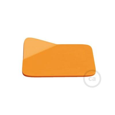 Magnetico®-Base Orange, metalbase til glatte overflader til Magnetico®-Plug