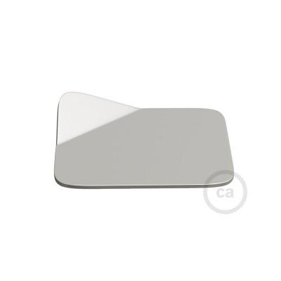 Magnetico®-Base Krom, metalbase til glatte overflader til Magnetico®-Plug