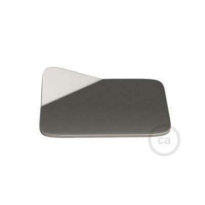 Magnetico®-Base Børstet metal, metalbase til glatte overflader til Magnetico®-Plug