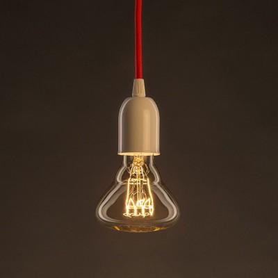 Vintage Gylden BR95 lyskilde Carbon Filament horisontal spiral 30W E27 dæmpbar 2000K