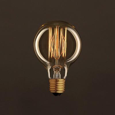 Vintage Gylden Globe G80 lyskilde Carbon Filament Cage 30W E27 dæmpbar 2000K