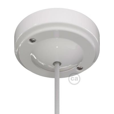 "Porcelain ""Minimal"" ceiling rose kit"