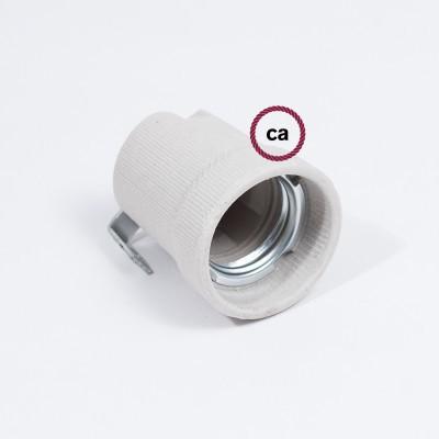 Inner bracket porcelain E27 lamp holder kit