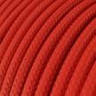 Rund tekstilledning i viskose - RM09 Rød