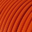 Rund tekstilledning i viskose - RM15 Orange