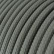 Rund tekstilledning i viskose - RM03 Grå