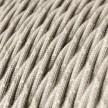 Snoet tekstilledning i Naturlig Neutral hør - TN01