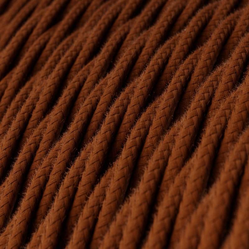Snoet tekstilledning i bomuld - TC23 Hjort