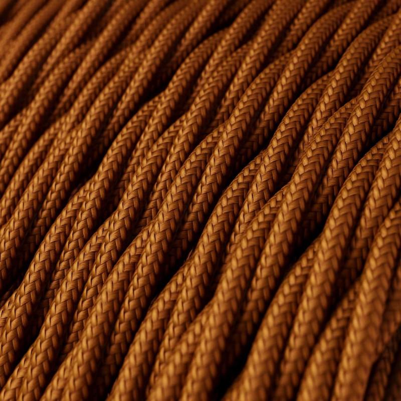 """Snoet tekstilledning i """"silkeeffekt"""" stof - Solid Whisky TM22"""