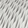 Snoet tekstilledning i bomuld - TC01 Hvid