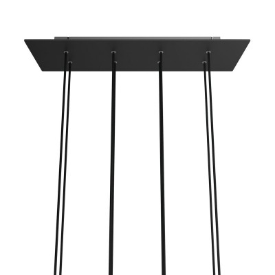 Rectangular XXL Rose-One 8-hole ceiling rose kit, 675 x 225 mm Cover