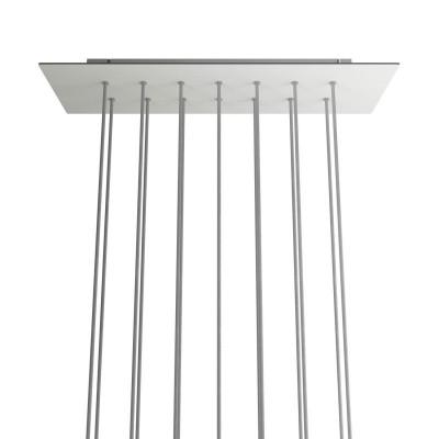 Rectangular XXL Rose-One 14-hole ceiling rose kit, 675 x 225 mm Cover