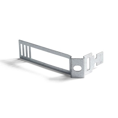 Metal cable tie clip for 24mm diameter rope cable