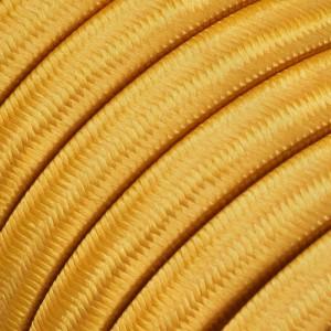 Ledning til Lyskæder, beklædt med Viskosestof Guld CM05