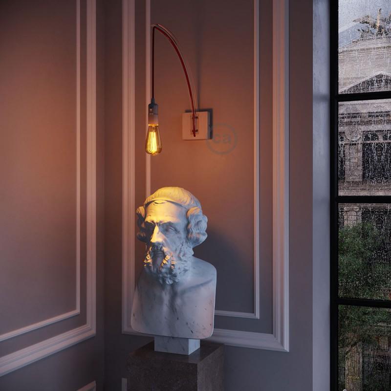 Archet(To), transparent vægfixtur til pendellamper