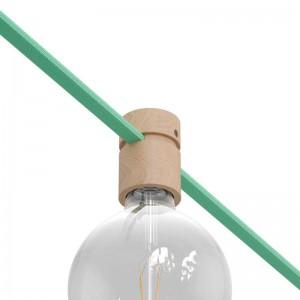 Træfatning til lyskæde og Filé system.