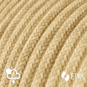 Outdoor round electric cable covered in Jute SN06 -suitable for IP65 EIVA system