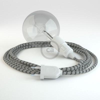Lav din egen RD54 Striber Anthracit Snake og bring lyset hen, lige hvor du vil have det.