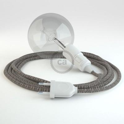 Lav din egen RD64 Lozenge Antracit Snake og bring lyset hen, lige hvor du vil have det.