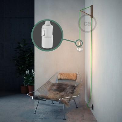 Lav din egen RF06 Grøn Fluo Snake og bring lyset hen, lige hvor du vil have det.