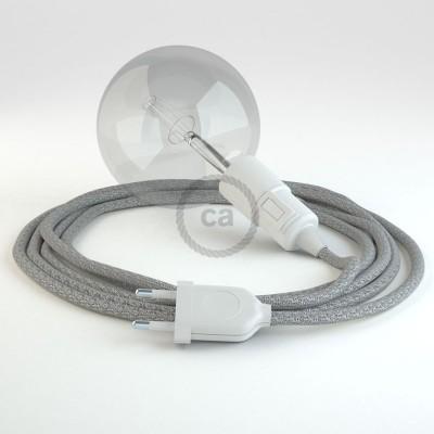 Lav din egen RL02 Glinsende Sølv Snake og bring lyset hen, lige hvor du vil have det.