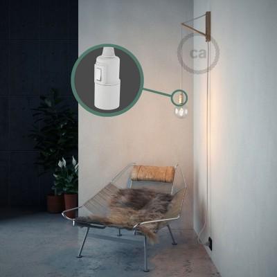 Lav din egen RM01 Hvid Viskose Snake og bring lyset hen, lige hvor du vil have det.