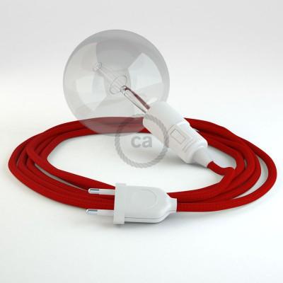 Lav din egen RM09 Rød Viskose Snake og bring lyset hen, lige hvor du vil have det.