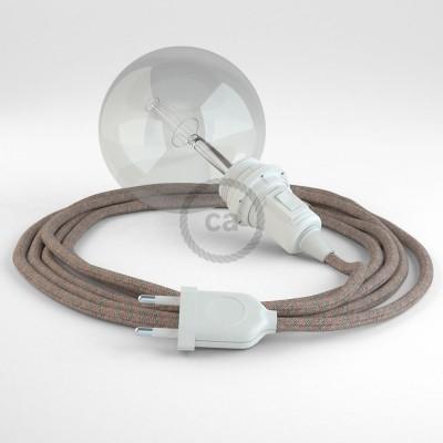 Lav din egen RD61 Lozenge Gammelrosa Snake til lampeskærm og bring lyset hen, lige hvor du vil have det.