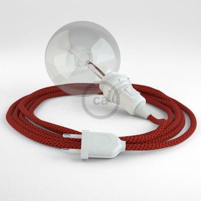 Lav din egen RT94 Red Devil 3D Snake til lampeskærm og bring lyset hen, lige hvor du vil have det.