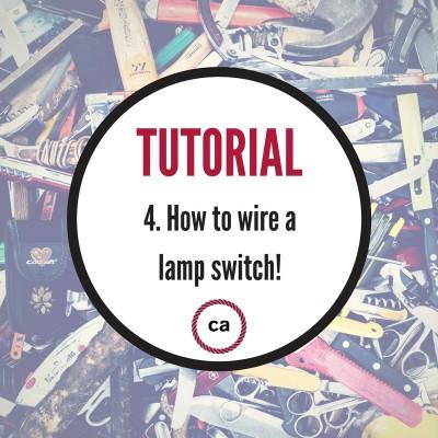 Tutorial #4 - Lær at montere en ledningsafbryder!
