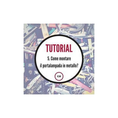 Tutorial #5 - Lær at montere en pærefatning i metal!